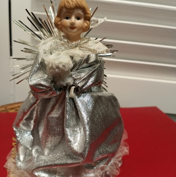 Miniature Angel Christmas Tree Topper
